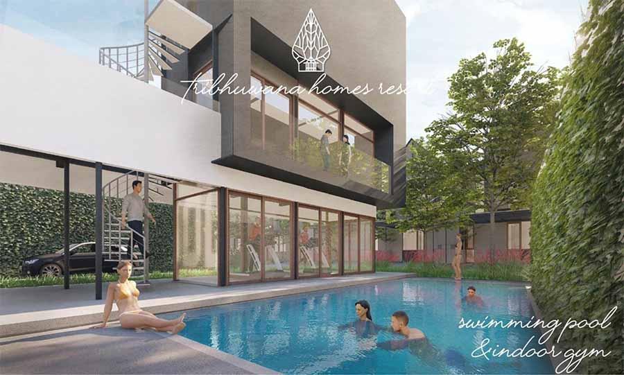 Fasilitas di Perumahan Cluster Tribhuwana Homes Resort
