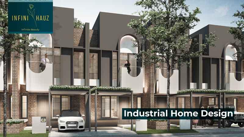 Facade rumah cluster baru di Banjar Wijaya Tangerang.