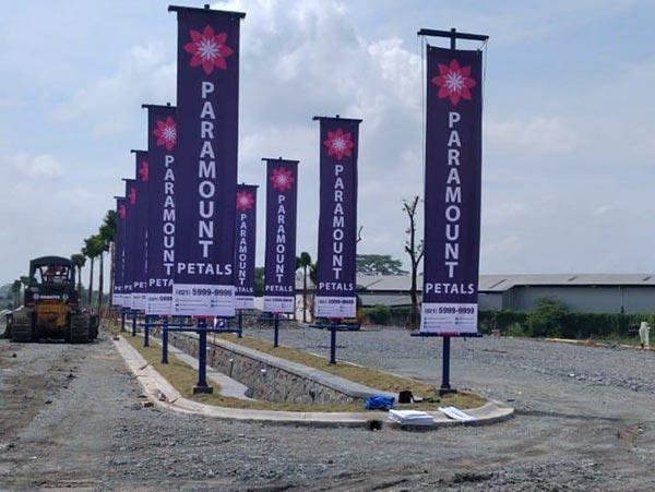 Pembangunan Paramount Petals Curug Tangerang