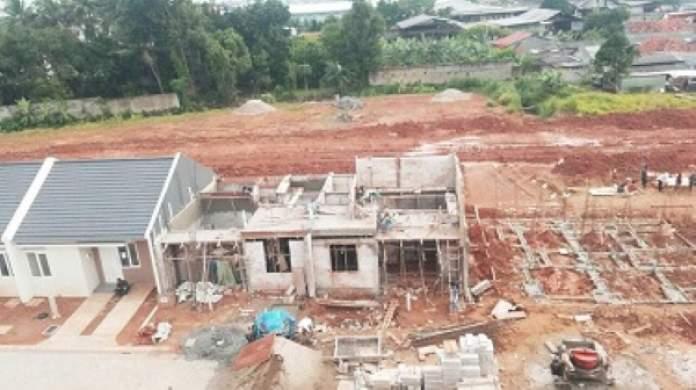 Lokasi proyek hunian Paramount Land di Curug Dekat Citra Rayadan Lippo karawaci