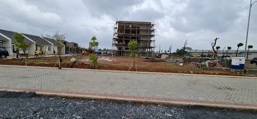 Progress pembangunan proyek perumahan curug Tangerang.