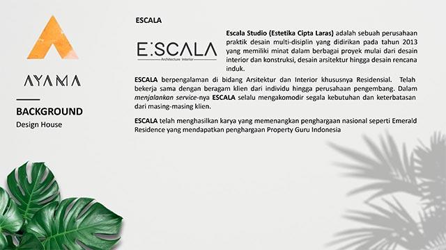 Design Rumah oleh Arsitek ESCALA