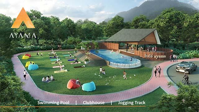Club House dengan Kolam Renang