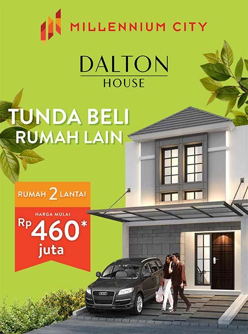 Cluster Dalton House Millenium City Parung Panjang Harga 460 jutaan