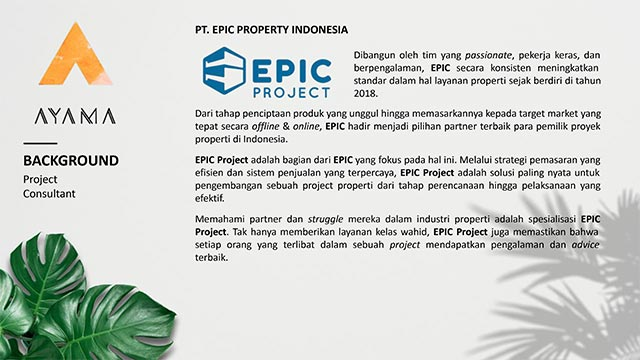 EPIC Project Consultant