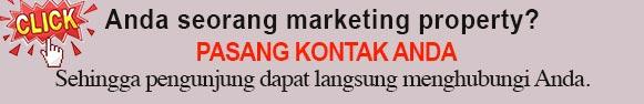 iklan rumah murah pasang kontak marketing