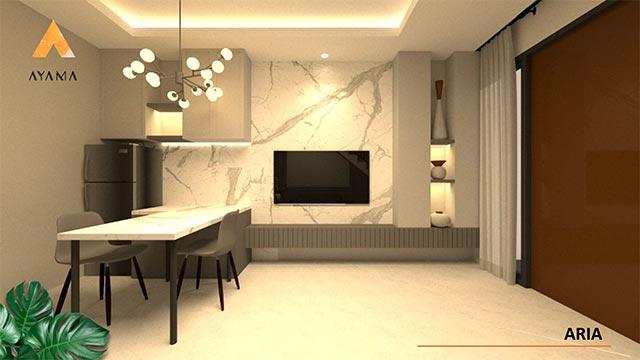 Interior Rumah Type Aria