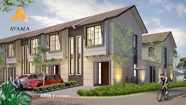Fasad rumah type Aria