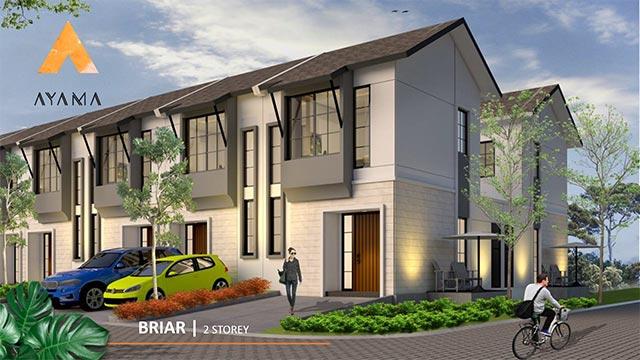 Fasad rumah type Briar