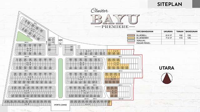 Siteplan Bayu Premiere