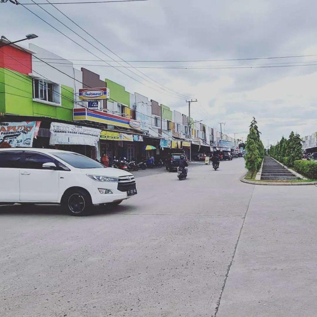 Ruko Sentraloand Paradise berada di jalan boulevard