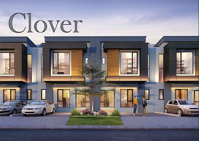Desain Fasad Rumah Type Clover Ayodhya Garden