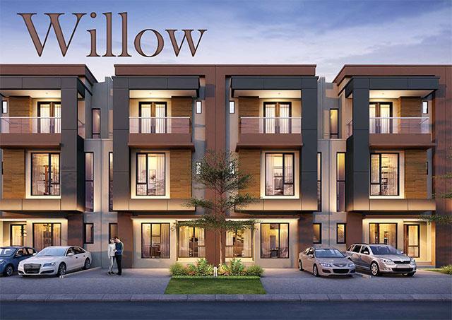 Desain Fasad Rumah Type Willow