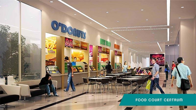 Food court apartemen B Residence