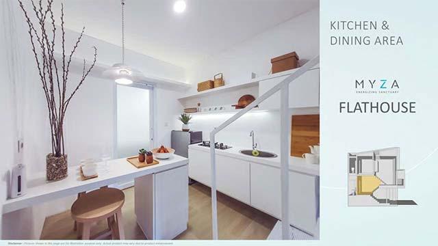 kitchen area rumah bsd
