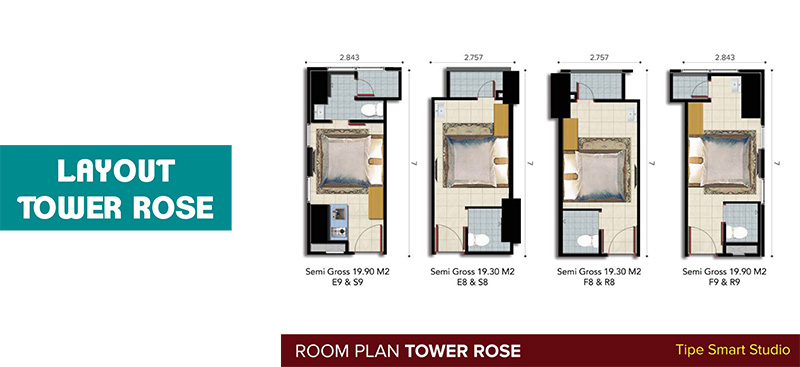 Layout tower Rose