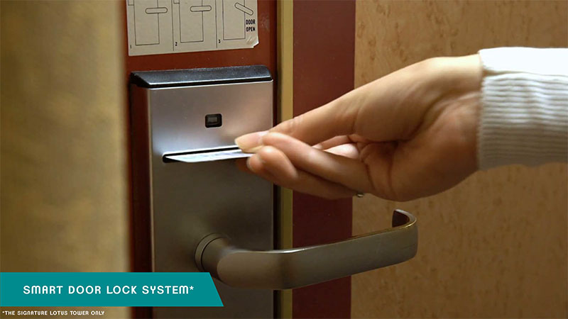 Smart Door Lock Apartemen B Residence