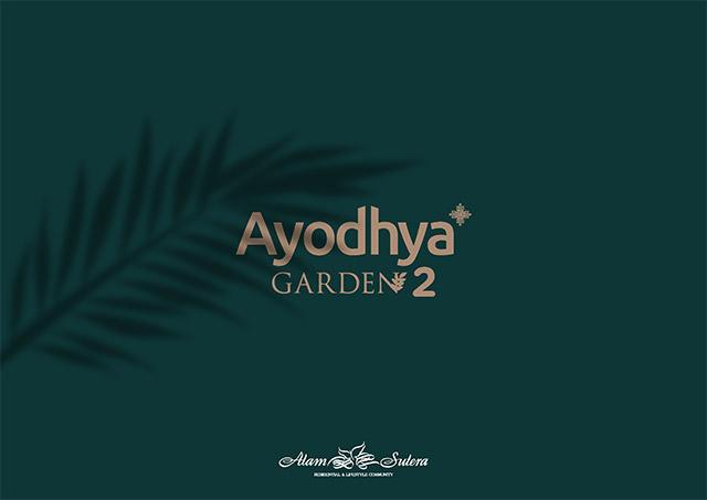 Rumah Cluster Baru di Ayodhya Garden 2