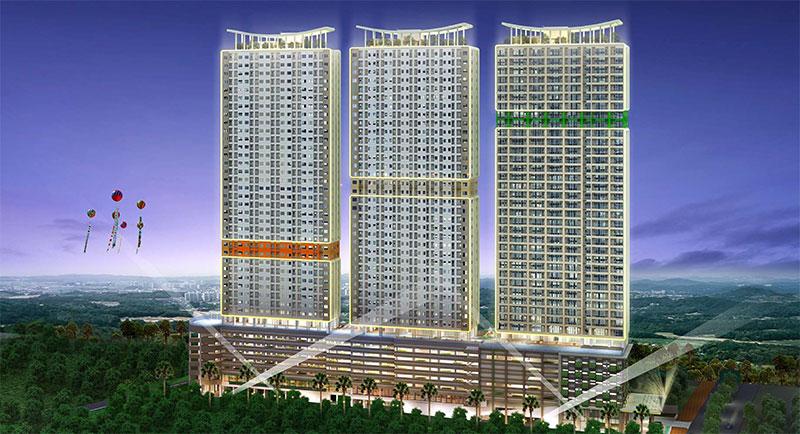 Apartemen B Residence BSD terdiri dari 3 Tower